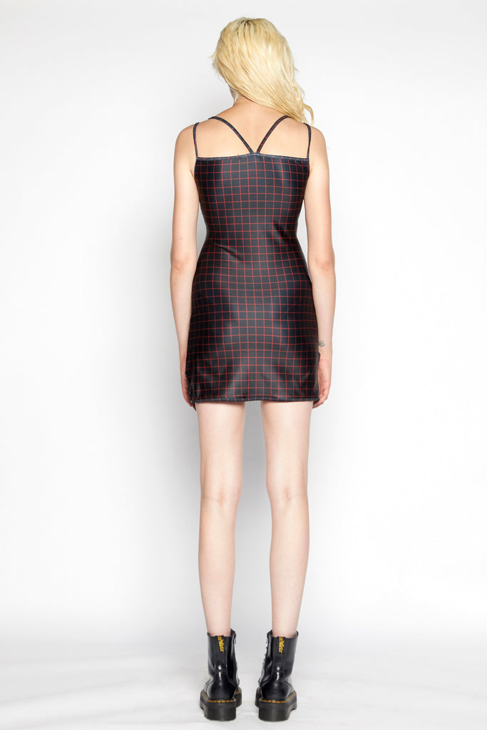Stuck on stupid mini dress (Black)