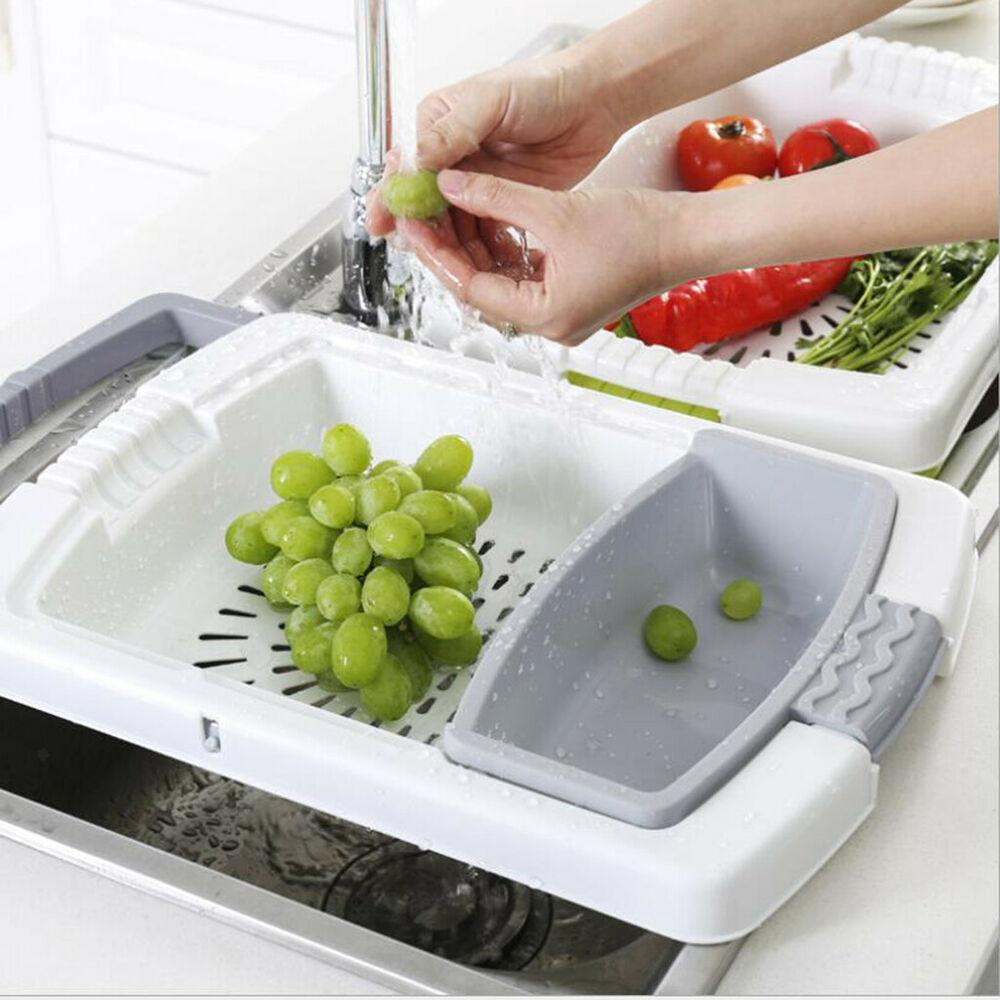 Chopping Board & Draining Basket Set Kitchen Candid Report