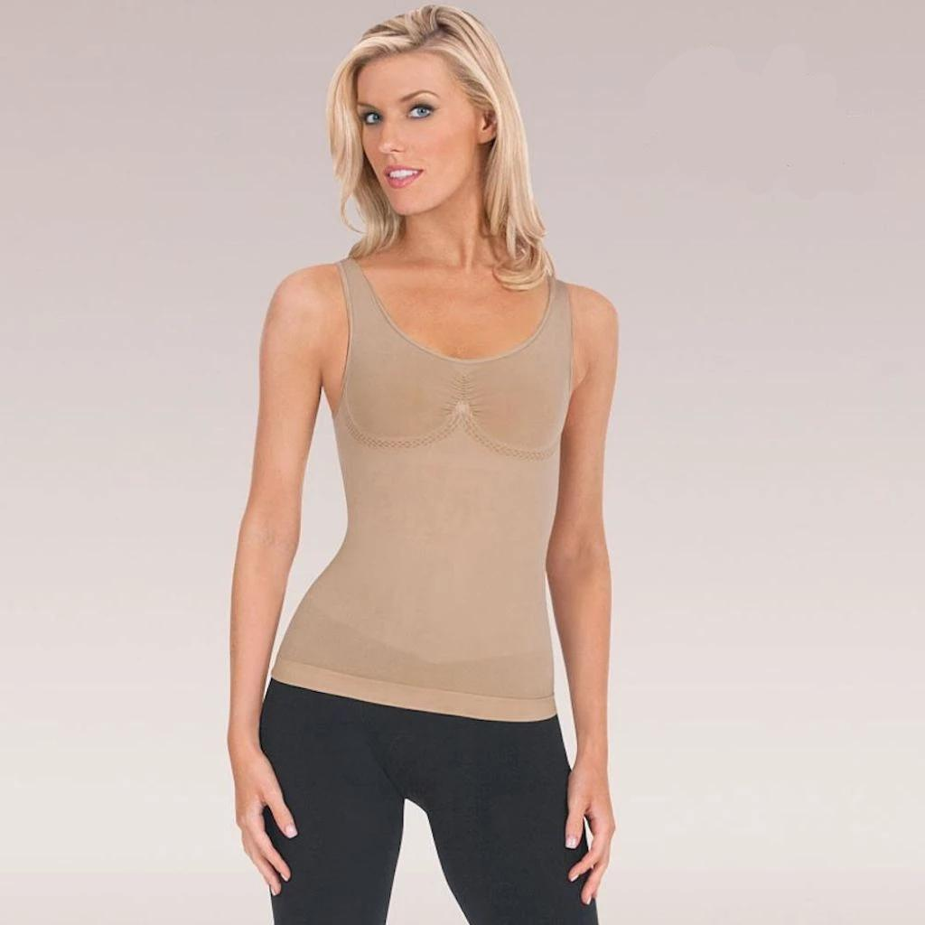 Comfort Fit Tank Shaper Beauty Candid Report