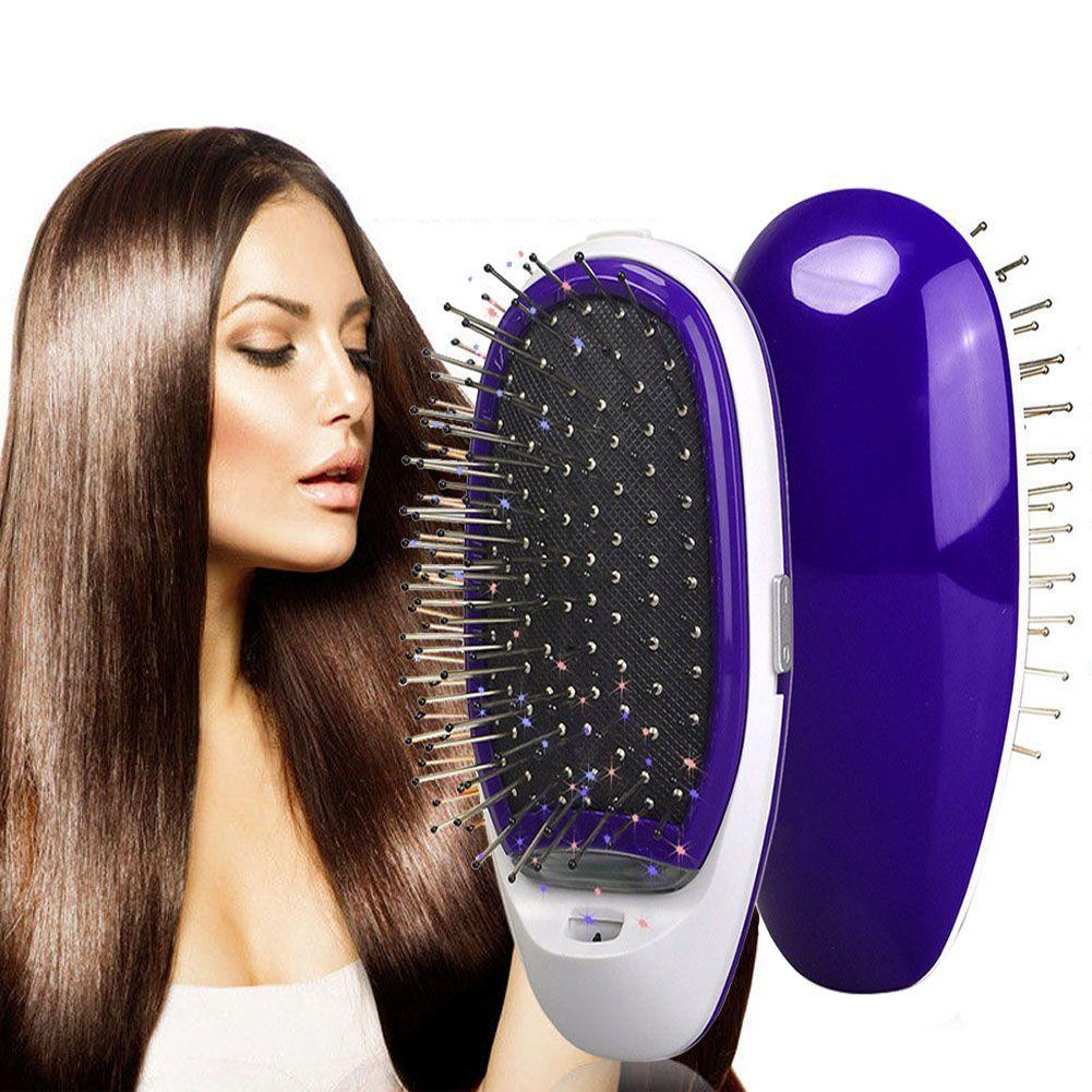 Ionic Instant Hair Straightener Brush Beauty Candid Report