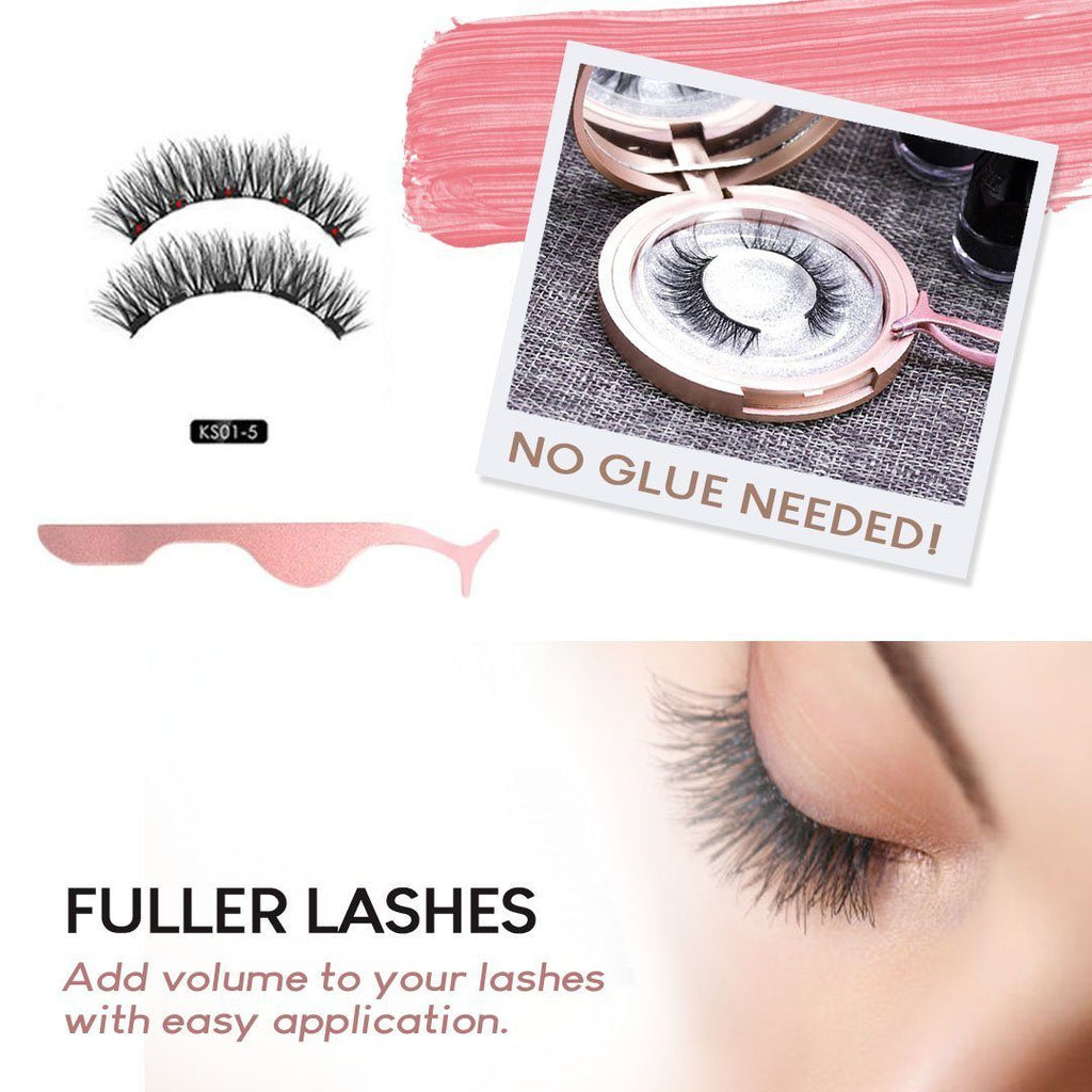 Magnetic Eyelashes Cosmetic Set Beauty Candid Report