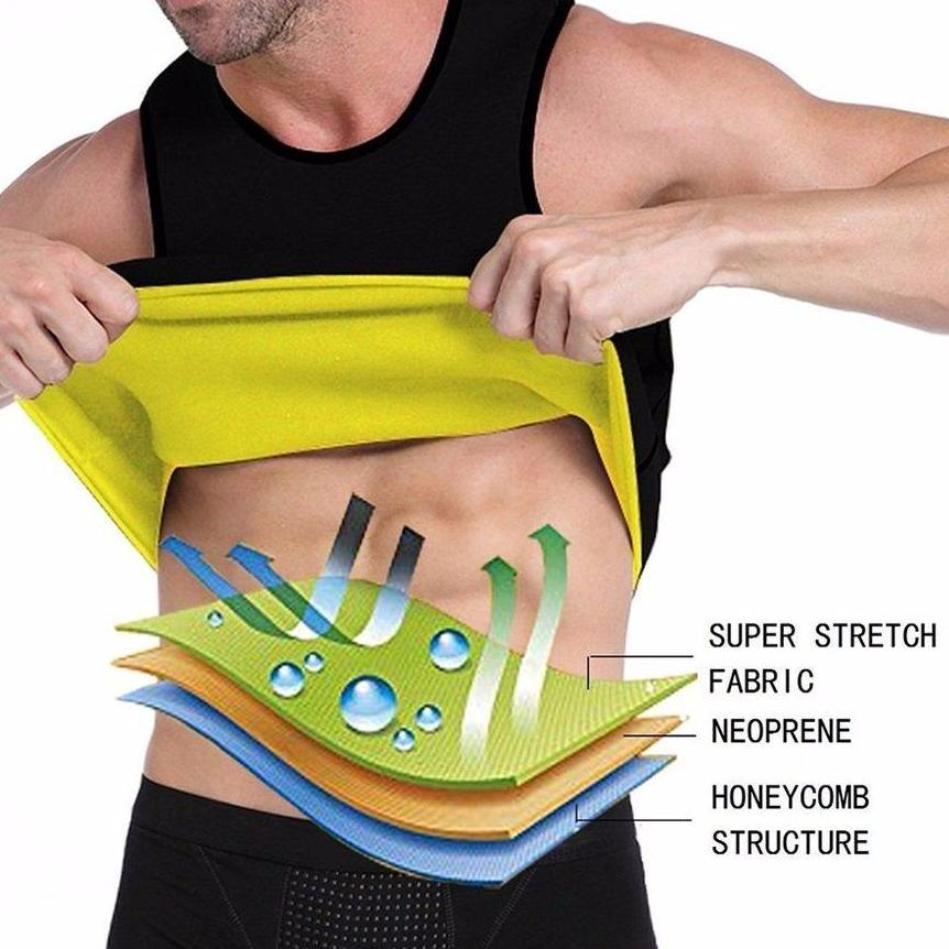 Men Workout Sweat Shaper Beauty Candid Report