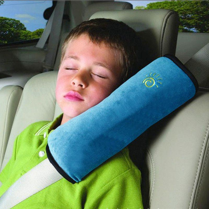 Plush Seat Belt Pillow Car Candid Report