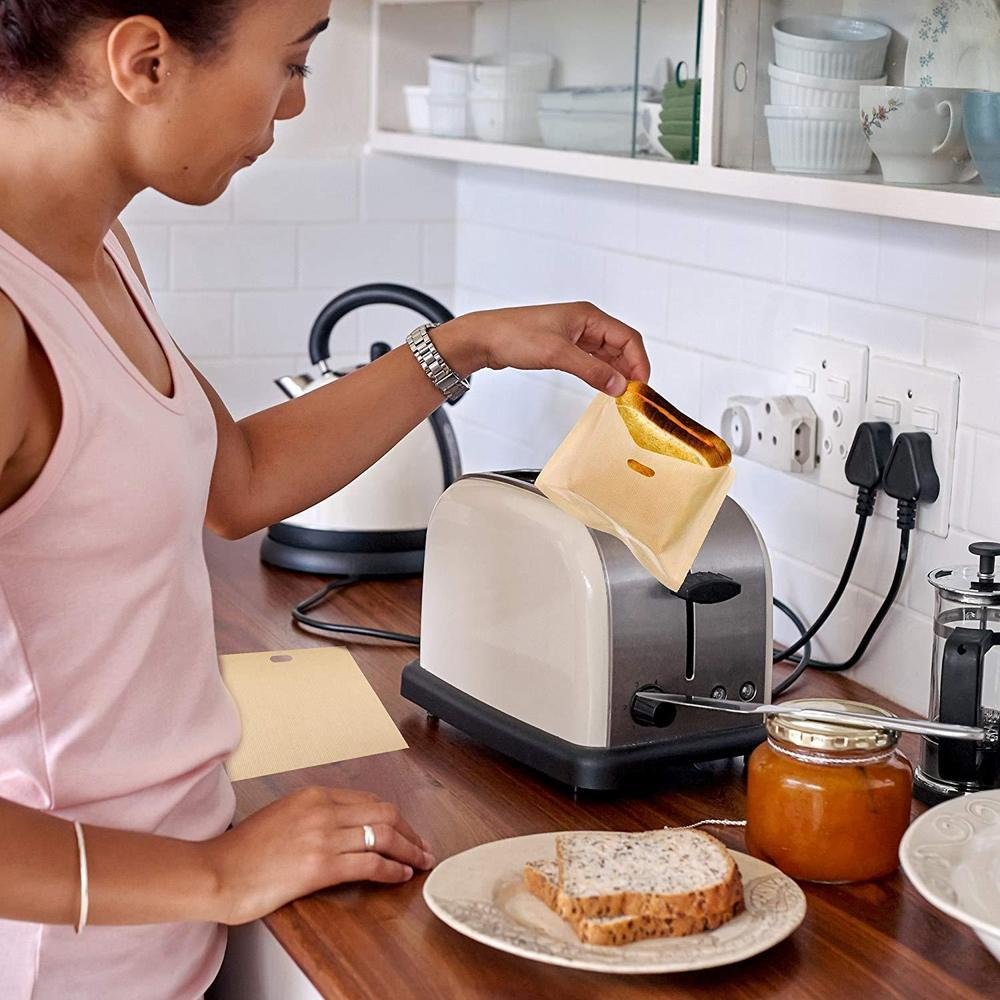 Reusable Toaster Bag Set Kitchen Candid Report