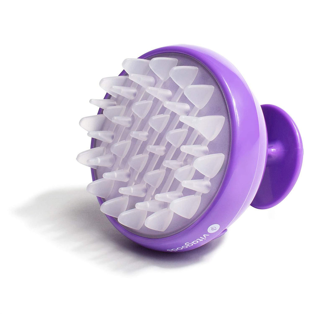 Scalp Massaging Shampoo Brush Beauty Candid Report