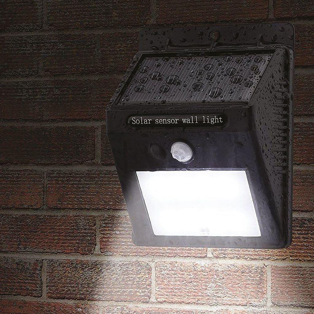 Solar Motion Sensor Wall Light Household Candid Report