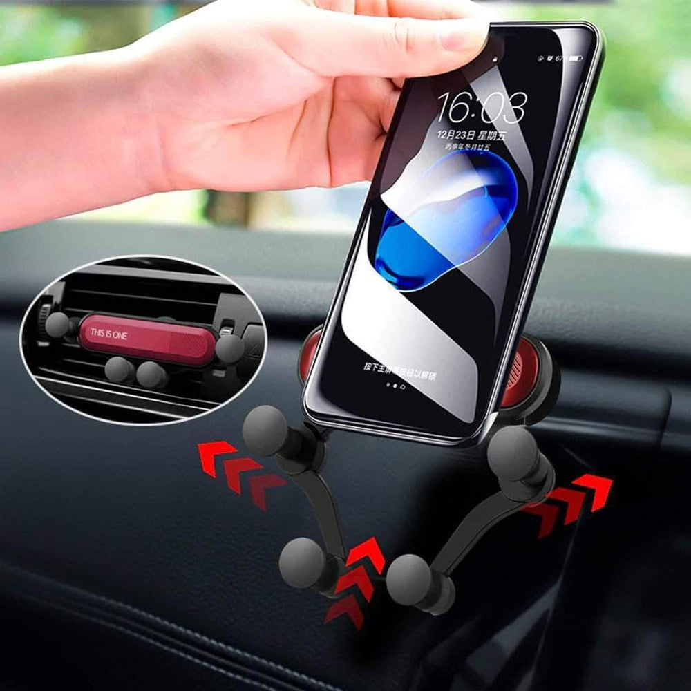 Universal Auto-Grip Car Phone Mount Car Candid Report