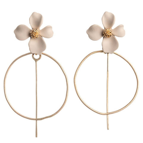 Pleasant Petal Earrings