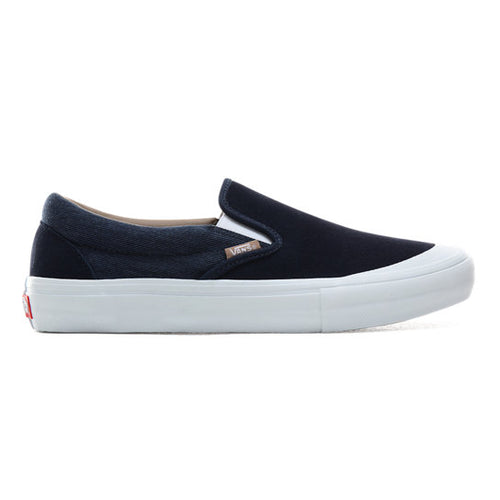 VANS TWILL SLIP-ON PRO SHOES
