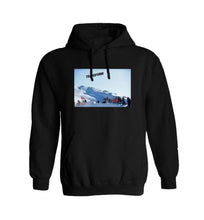 Load image into Gallery viewer, TRANSFORM THE ICON HOODIE BLACK