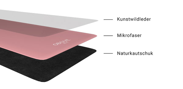 Materials natural rubber yoga mat