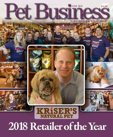 Pet Business 2018 Retailer of the Year: Kriser's Natural Pet