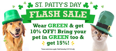 St. Patty's Day FLASH SALE!