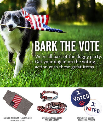 BARK THE VOTE
