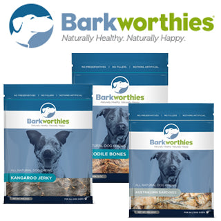 NEW THIS MONTH: BARKWORTHIES NATURAL PET TREATS