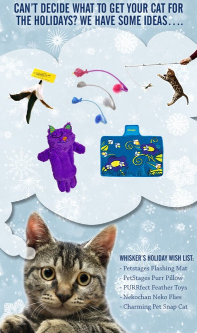 CAT TOY GIFT IDEAS THIS DECEMBER