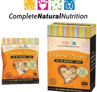 15% OFF COMPLETE NATURAL NUTRITION CHEESE PLEASE