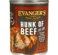 RECALL NOTICE: EVANGER'S HUNK OF BEEF CANNED DOG FOOD