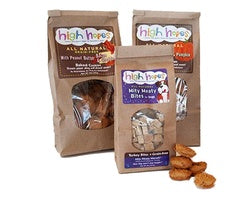 15% OFF HIGH HOPES TREATS FOR DOGS