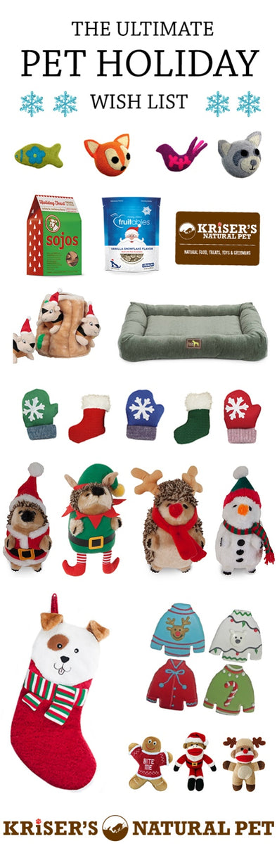 THE ULTIMATE PET HOLIDAY WISH LIST