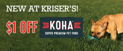 *NEW* KOHA DOG FOOD IN STORES IN APRIL!