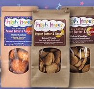 15% OFF HIGH HOPES TREATS FOR DOGS IN JANUARY