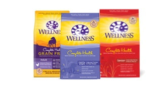 SAVINGS ON WELLNESS COMPLETE HEALTH DRY DOG FOOD