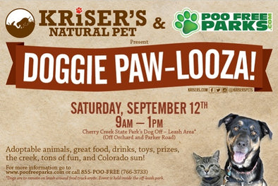 KRISER'S AND POO FREE PARKS PRESENT DOGGIE PAW-LOOZA IN DENVER!