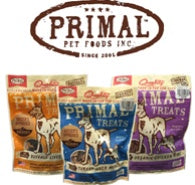 20% OFF PRIMAL TREATS FOR DOGS AND CATS IN DECEMBER