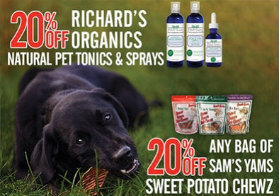 SAVINGS ON CHEWS, TONICS & SPRAYS