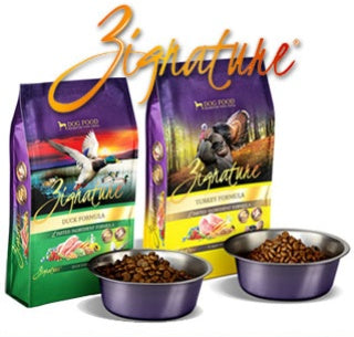 MARCH PRODUCT OF THE MONTH: ZIGNATURE CANS AND DRY FOOD