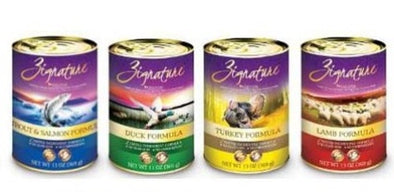 BUY TWO GET ONE FREE ON ZIGNATURE CANNED DOG FOOD - NEW AT KRISER'S