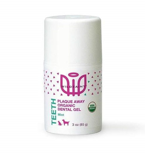 Wildsaint plaque away tooth gel