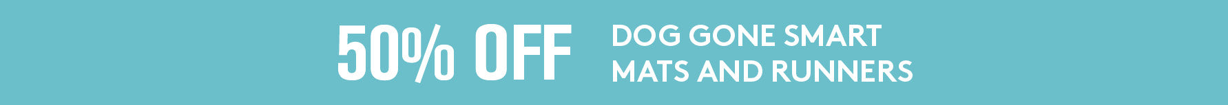 50% off on Dog Gone Smart Crate Mats and Runners