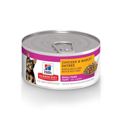 Hill's Science Diet Small Paws Puppy Chicken & Barley Entree Canned Dog Food
