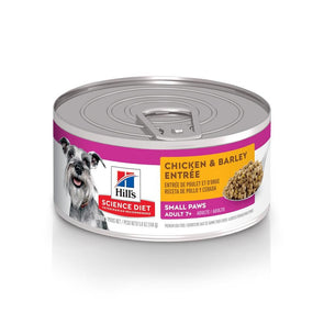 Hill's Science Diet Adult 7+ Small Paws Chicken & Barley Entree Canned Dog Food
