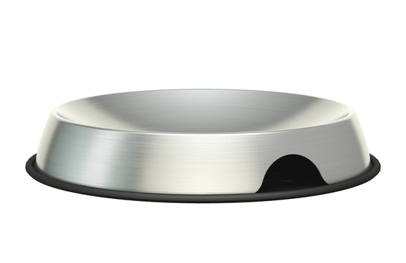 Dr. Catsby Whisker Relief Stainless Steel Cat Food Bowl
