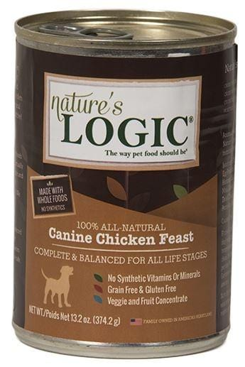 Nature's Logic Canine Grain Free Chicken Feast Canned Dog Food