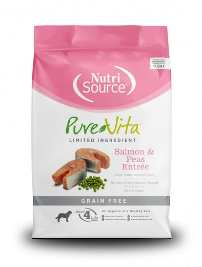 PureVita Grain Free Salmon Formula Dry Dog Food