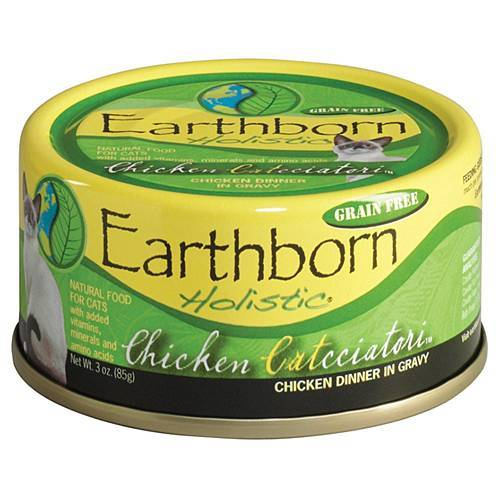 Earthborn Holistic Chicken Catcciatori Grain Free Canned Cat Food