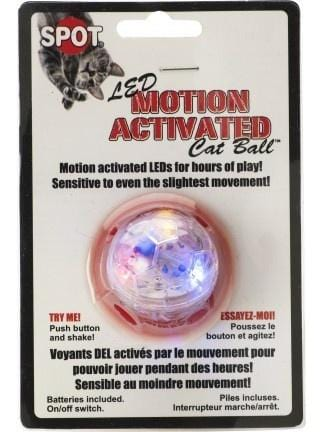 Ethical Pet SPOT LED Motion Activated Cat Ball Toy