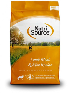 NutriSource Lamb Meal & Rice Dry Dog Food