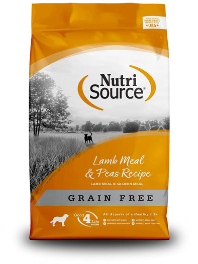 NutriSource Lamb Meal & Peas Formula Grain Free Dry Dog Food