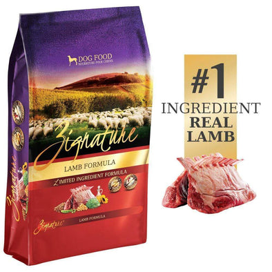 Zignature Limited Ingredient Lamb Formula Dry Dog Food Small Bag