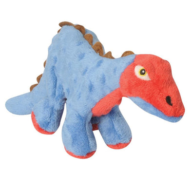 Go Dog Spike the Blue Stegosaurus Dog Chew Toy