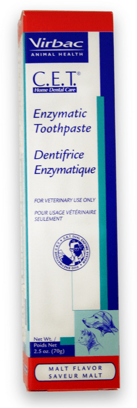 Virbac C.E.T. Enzymatic Pet Toothpaste Malt Flavor for Dogs and Cats