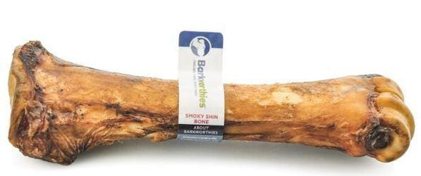 Barkworthies Smokey Shin Bone Dog Treats