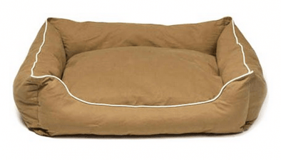 Dog Gone Smart Khaki Lounger Dog Bed