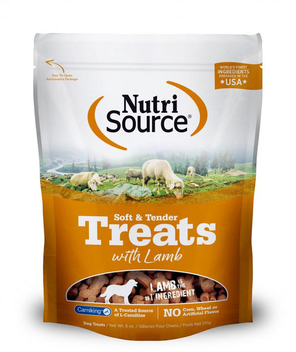 NutriSource Soft & Tender Lamb Dog Treats
