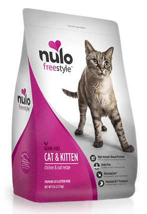 Nulo FreeStyle Cat and Kitten Grain Free Chicken and Cod Recipe Dry Cat Food